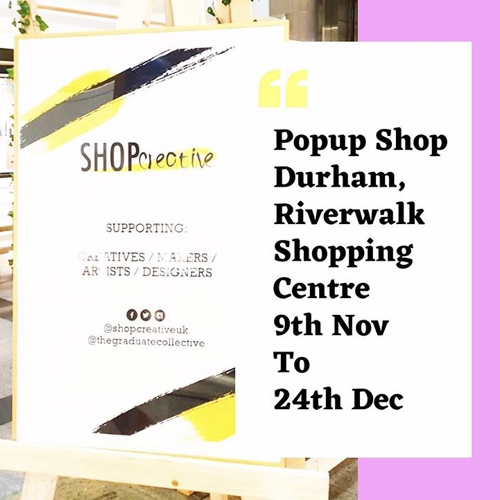 Pop-up Shop – Durham – Nov 19